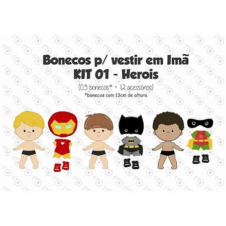 Especial Herois 01 - Kit Bonecos p/ Vestir