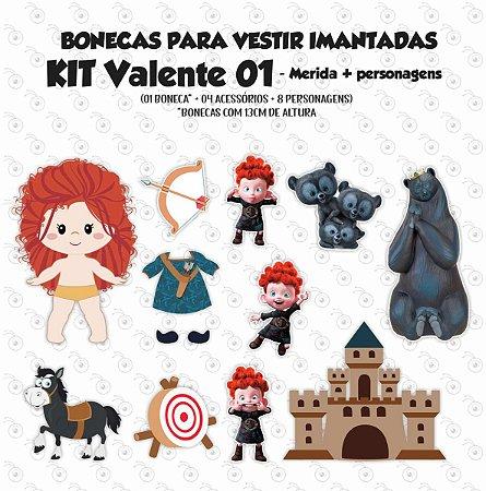 Especial Valente 01 - Kit Bonecos p/ Vestir