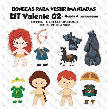 Especial Valente 02 - Kit Bonecos p/ Vestir