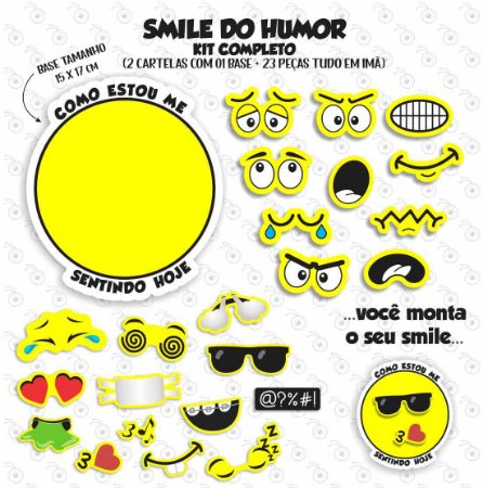 Smile do HUMOR - KIT COMPLETO