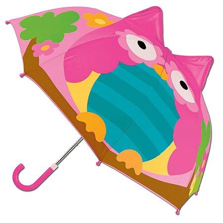 Guarda-chuva 3D Corujinha Stephen Joseph