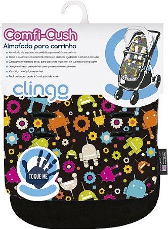 Almofada para Carrinho Comfi-Cush Robots Clingo