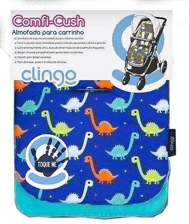 Almofada para Carrinho Comfi-Cush Dino Fun Clingo