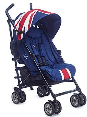 Carrinho De Bebê Miny Buggy Union Jack Classic Easywalker