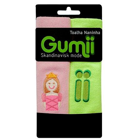 Toalha Naninha Princesa Lili - Pack 2 unidades - Gumii