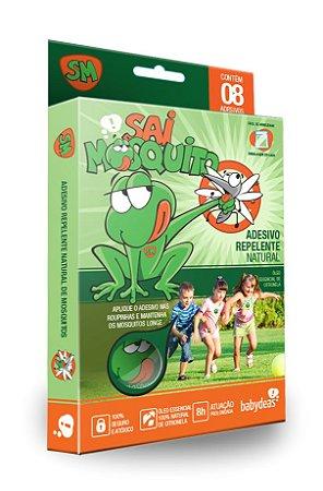 Sai Mosquito Adesivo Repelente Natural Babydeas