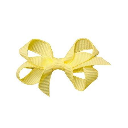 Laço em Gorgurão Royal Style Amarelo Claro 5 cm Gumii