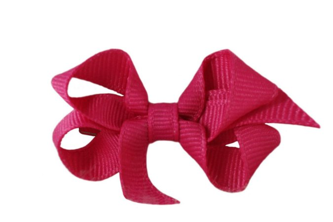 Laço em Gorgurão Royal Style Pink 5 cm Gumii