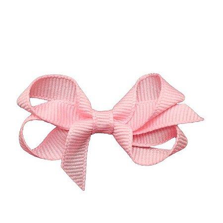 Laço em Gorgurão Royal Style Rosa Claro 5 cm Gumii