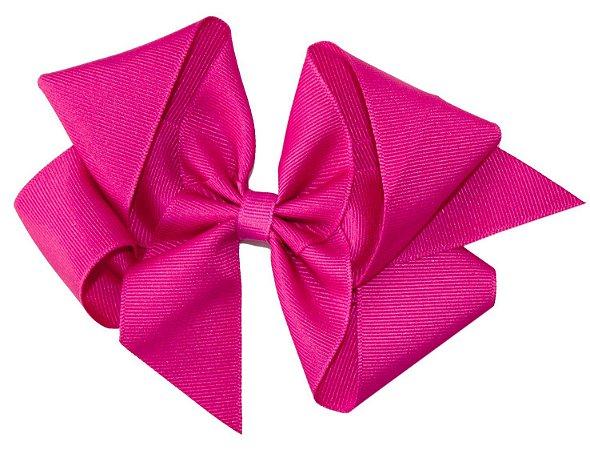 Laço em Gorgurão Royal Style Pink 12 cm Gumii