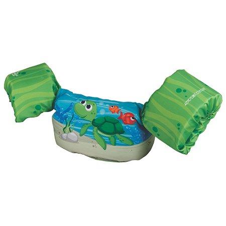 Boia Colete Salva Vidas Tartaruga Puddle Jumper
