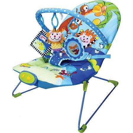 Cadeira de Descanso Musical Vibratória - Animais | Girotondo