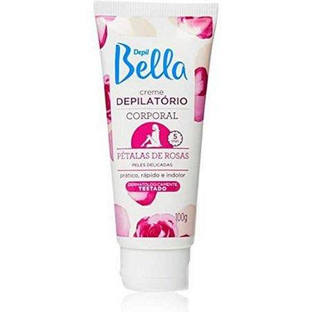 Creme Depilatório Corporal Petalas 100Gr Depil Bella Pa0502