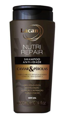 Lacan Caviar & Pérolas Shampoo 300ml