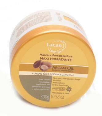 Lacan Maxi hidratante Argan Máscara 300g