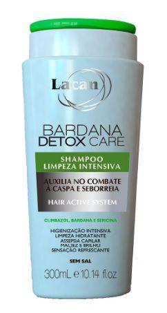 Lacan Bardana Detox Care Shampoo de Limpeza Intensiva 300ml