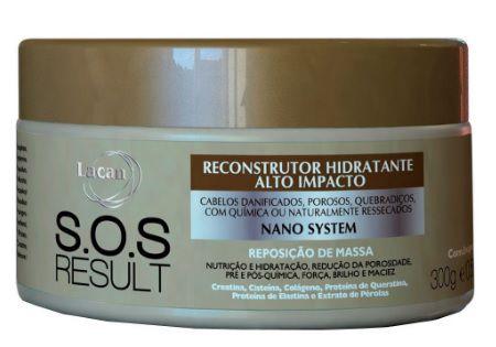 Lacan SOS Result Reconstrutor de Alto Impacto Máscara 300g