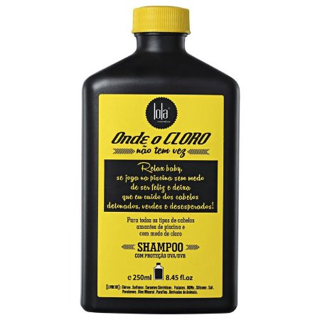 Lola Onde o Cloro Não Tem Vez Shampoo 250ml