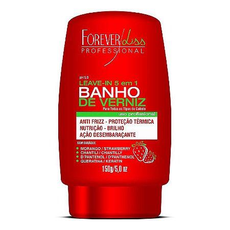 Forever Liss Banho de Verniz Morango Leave in 150g