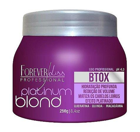 Forever Liss Platinum Blond Btox Matizador 250g