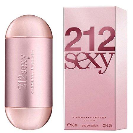 212 Sexy Carolina Herrera Eau de Parfum 60ml