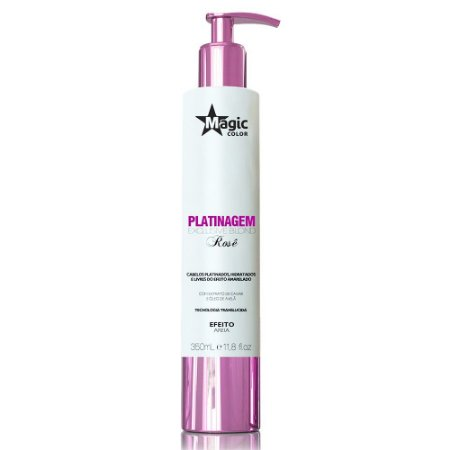 Magic Color Platinagem Exclusive Blond Rosê 350ml