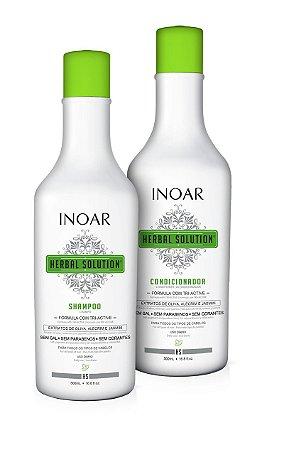 Inoar Herbal Kit Shampoo 500ml + Condicionador 500ml