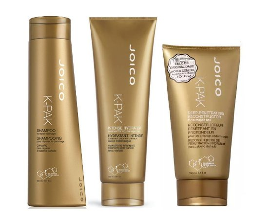 Kit Joico K Pak Shampoo 300ml, Condicionador 300ml e Máscara 150Ml