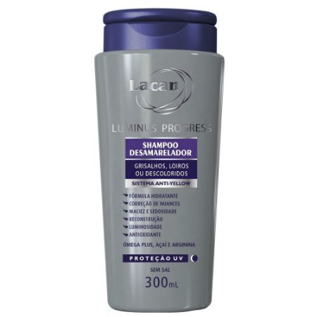 Shampoo Desamarelador Lacan Luminus Progress 300Ml