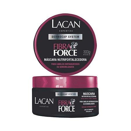 Máscara Lacan Fibra&Force Fortalecedor 300G