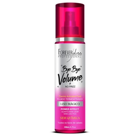 Bye Bye Volume E Frizz Forever Liss Spray 200Ml