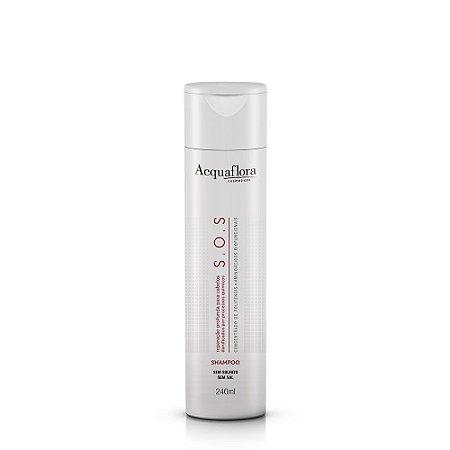 Shampoo Acquaflora Sos Sem Sulfato 240Ml