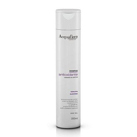 Shampoo Acquaflora Antioxidante Normais Ou Mistos 300Ml
