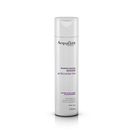 Shampoo Acquaflora Matizador Antioxidante 240Ml