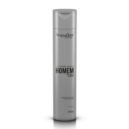 Shampoo Acquaflora Homem Cabelos Oleosos 300Ml