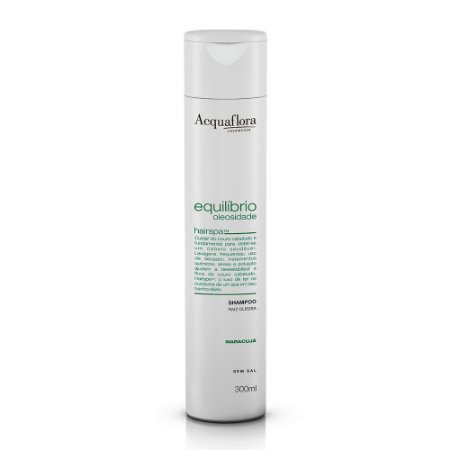 Shampoo Acquaflora Equilíbrio Oleosidade Raiz Oleosa 300Ml