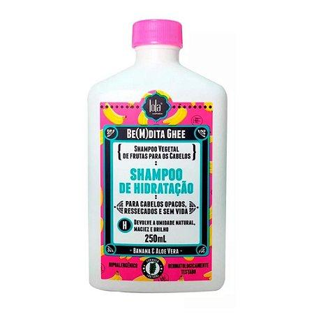 Shampoo Lola Bemdita Ghee Hidratação Banana 250ml