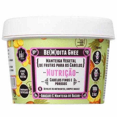 Máscara Lola Bemdita Ghee Nutrição Abacaxi e Manteiga de Bacuri 100gr