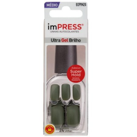 Unhas Kiss Impress Color Look At Me BIPM420BR