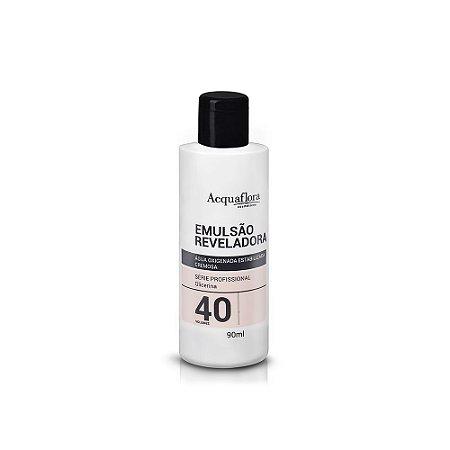 Emulsão Reveladora Acquaflora 40Vol 90Ml