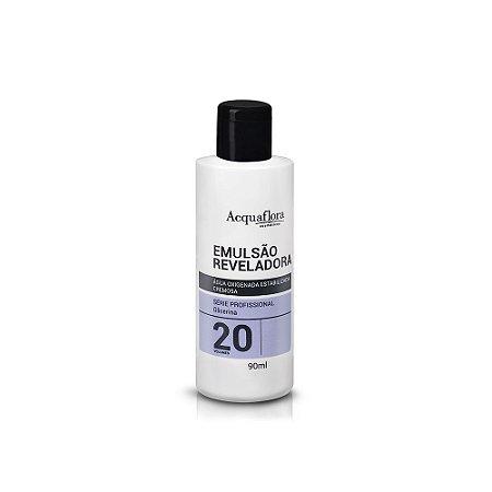 Emulsão Reveladora Acquaflora 20Vol 90Ml