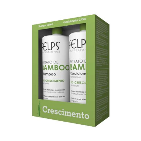 Kit Bamboo Felps Shampoo 250ml + Condicionador 250ml