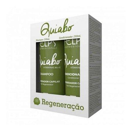 Kit Quiabo Felps Shampoo 250ml + Condicionador 250ml