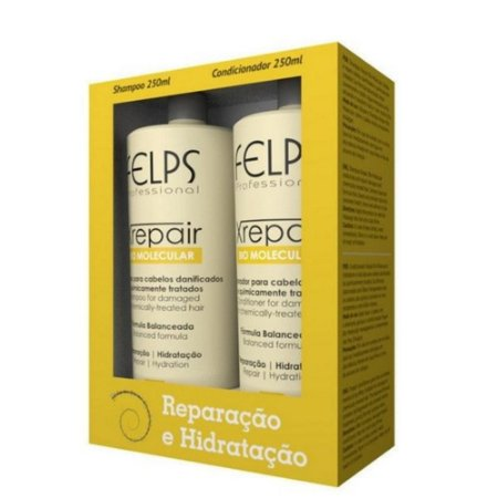 Kit XRepair Felps Shampoo 250ml + Condicionador 250ml