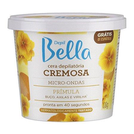 Cera Cremosa Depil Bella Micro-Ondas Prímula 100G