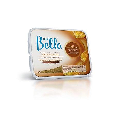 Cera Quente Depil Bella Própolis E Mel 800G
