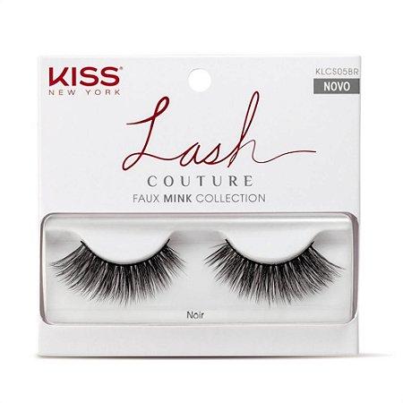 Cilios Kiss Inteiriços Lash Couture Noir KLCS05BR