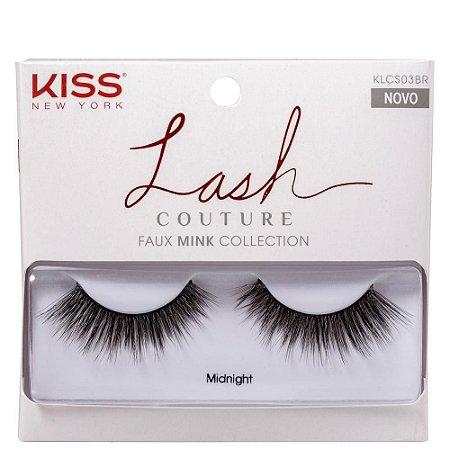 Cilios Kiss Inteiriços Lash Couture Midnight KLCS03BR