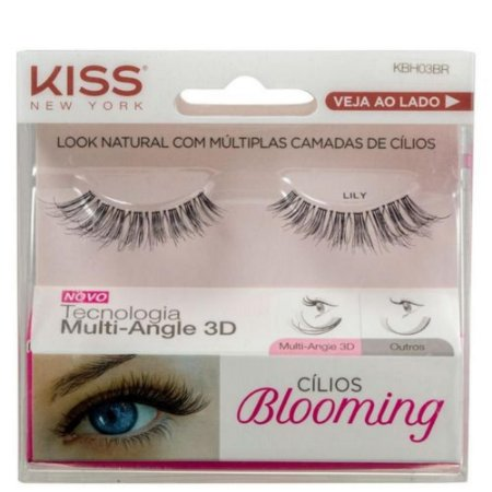 Cilios Kiss Blooming 03 Lily KBH03BR