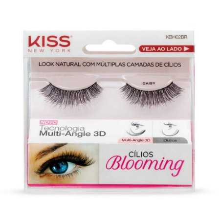 Cilios Kiss Blooming 02 Daisy KBH02BR